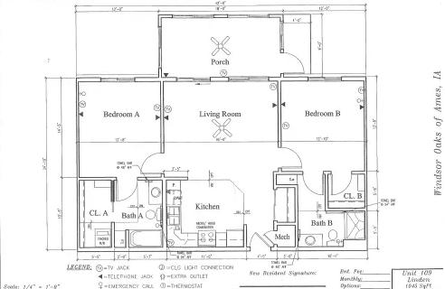Aspen #15 Floor Plan