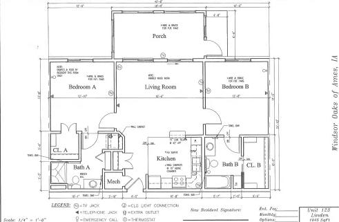 Aspen #127 Floor Plan