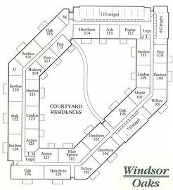 Windsor Oaks Building Layout