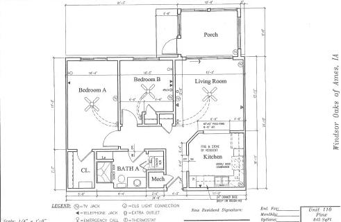 Pine #110 Floor Plan