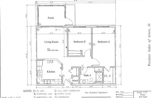 Pine #117 Floor Plan